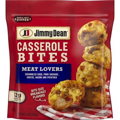 Jimmy Dean Casserole Bites Meat Lovers - 9oz