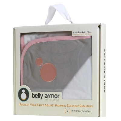Belly Armor with RadiaShield Chic Maternity Blanket - Juno