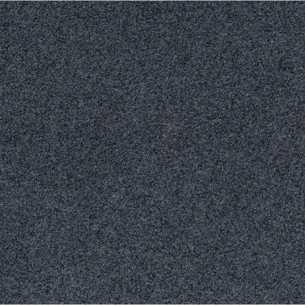 24 15pk Self Stick Carpet Tile Slate - Foss Floors Top