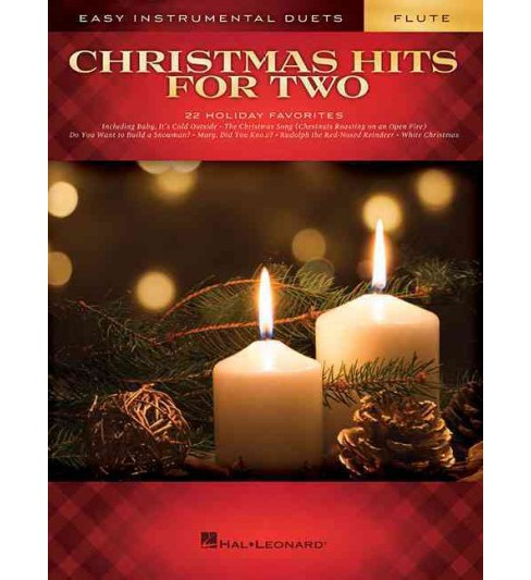 Christmas Hits for Two Flutes : Easy Instrumental Duets (Paperback) - image 1 of 1