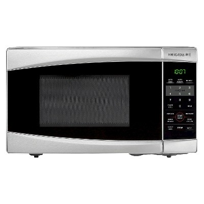 Frigidaire 0.7 Cu. Ft. 700 Watt Countertop Microwave Oven - Stainless Steel FFCM0734LS