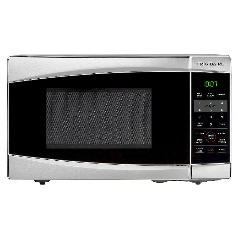 Frigidaire 0.7 Cu. Ft. 700 Watt Countertop Microwave Oven - Stainless Steel (Silver) FFCM0734LS