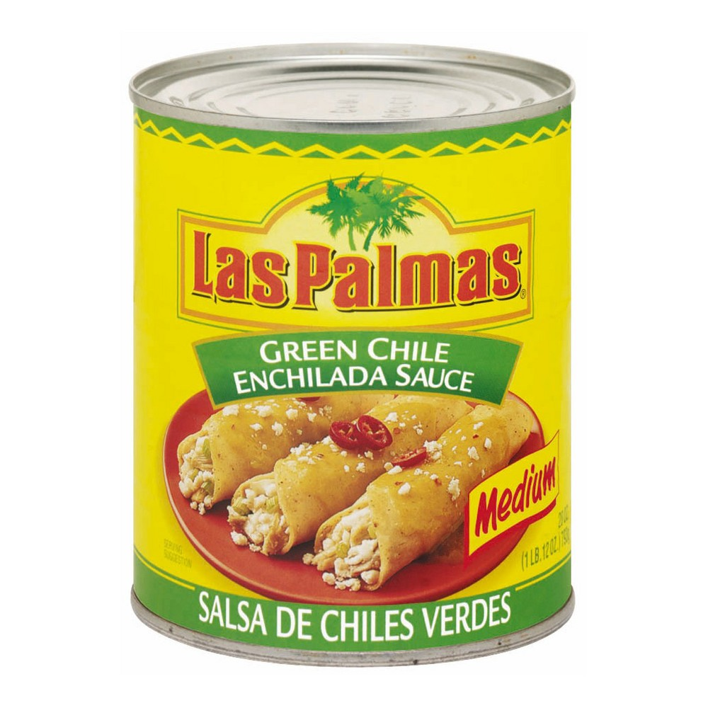Las Palmas Green Chile Medium Enchilada Sauce 28-oz.