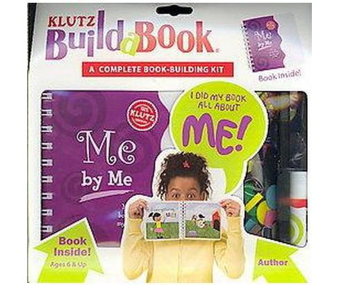 Build-A-Book Me by Me (Hardcover) (Klutz) - image 1 of 1