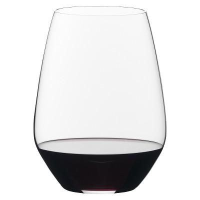 Riedel Vivant 223oz 2pk Merlot Stemless Wine Glasses