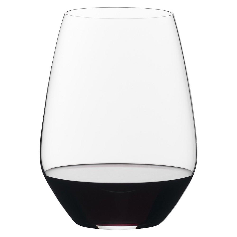 Image of Riedel Vivant 22.3oz 2pk Merlot Stemless Wine Glasses, Clear