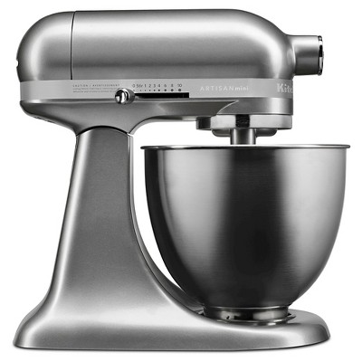 KitchenAid Artisan Mini 3.5qt Tilt-Head Stand Mixer - KSM3311XCU