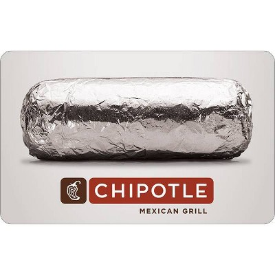 Chipotle Gift Card (Email Delivery)