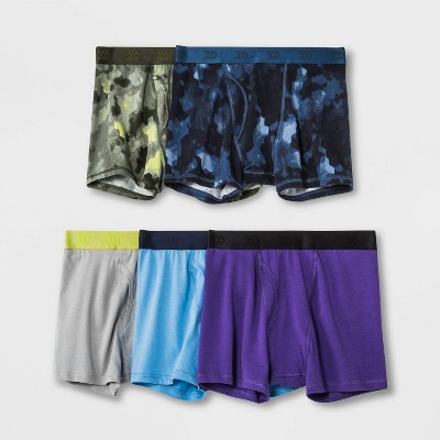 Boys' 5pk Printed Boxer Briefs - All in Motion™