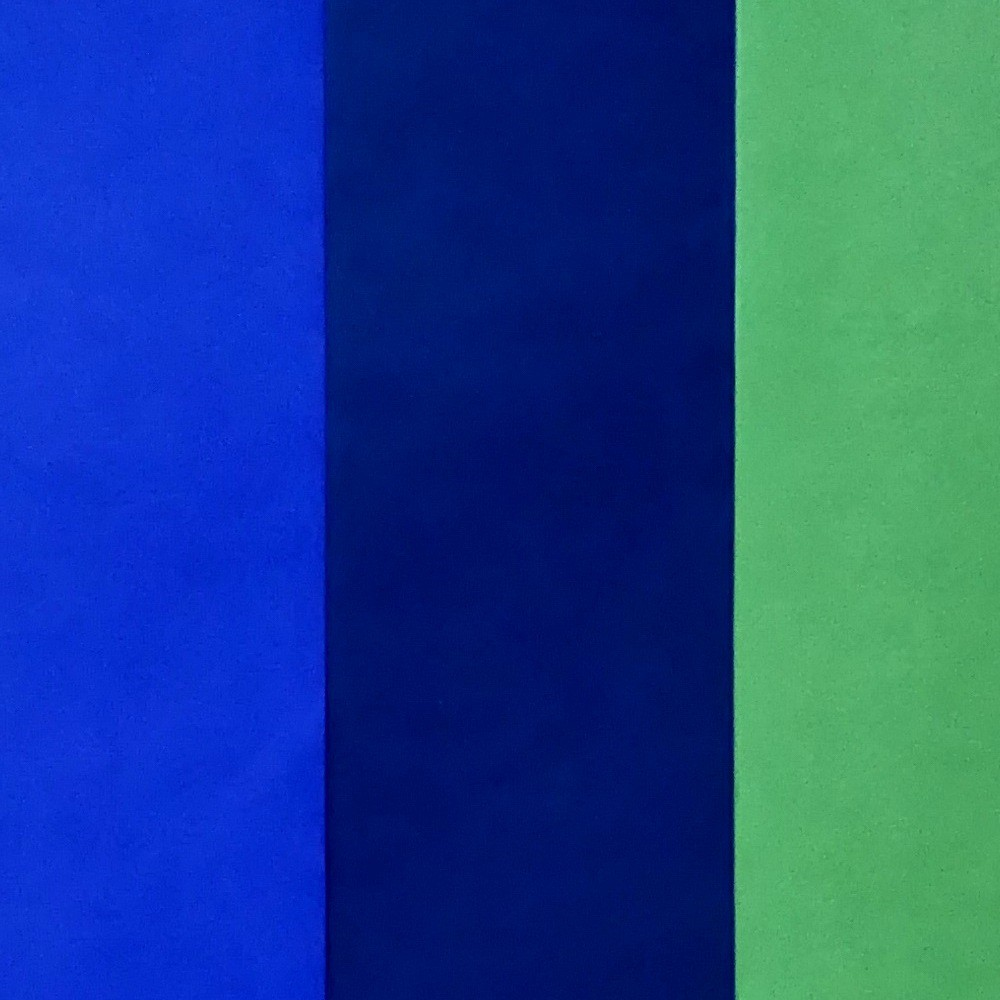 Image of 3 Step Striped Tissue Paper Blue/Green - Spritz