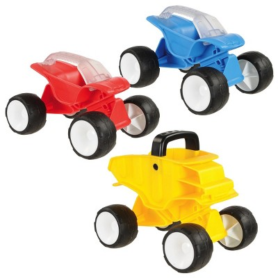HAPE Tilt & Turn Sand Cars - Set of 3