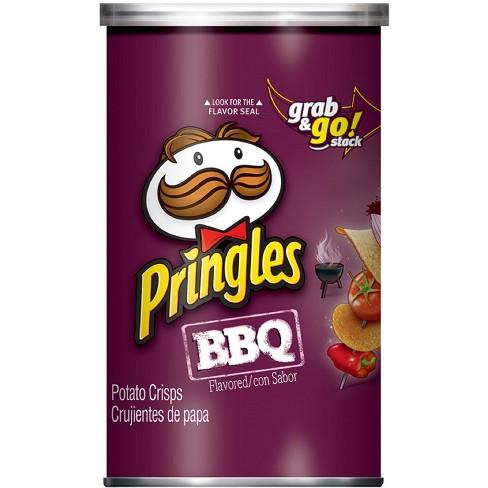 Pringles Grab & Go Large BBQ Potato Crisps - 2.5oz - image 1 of 4