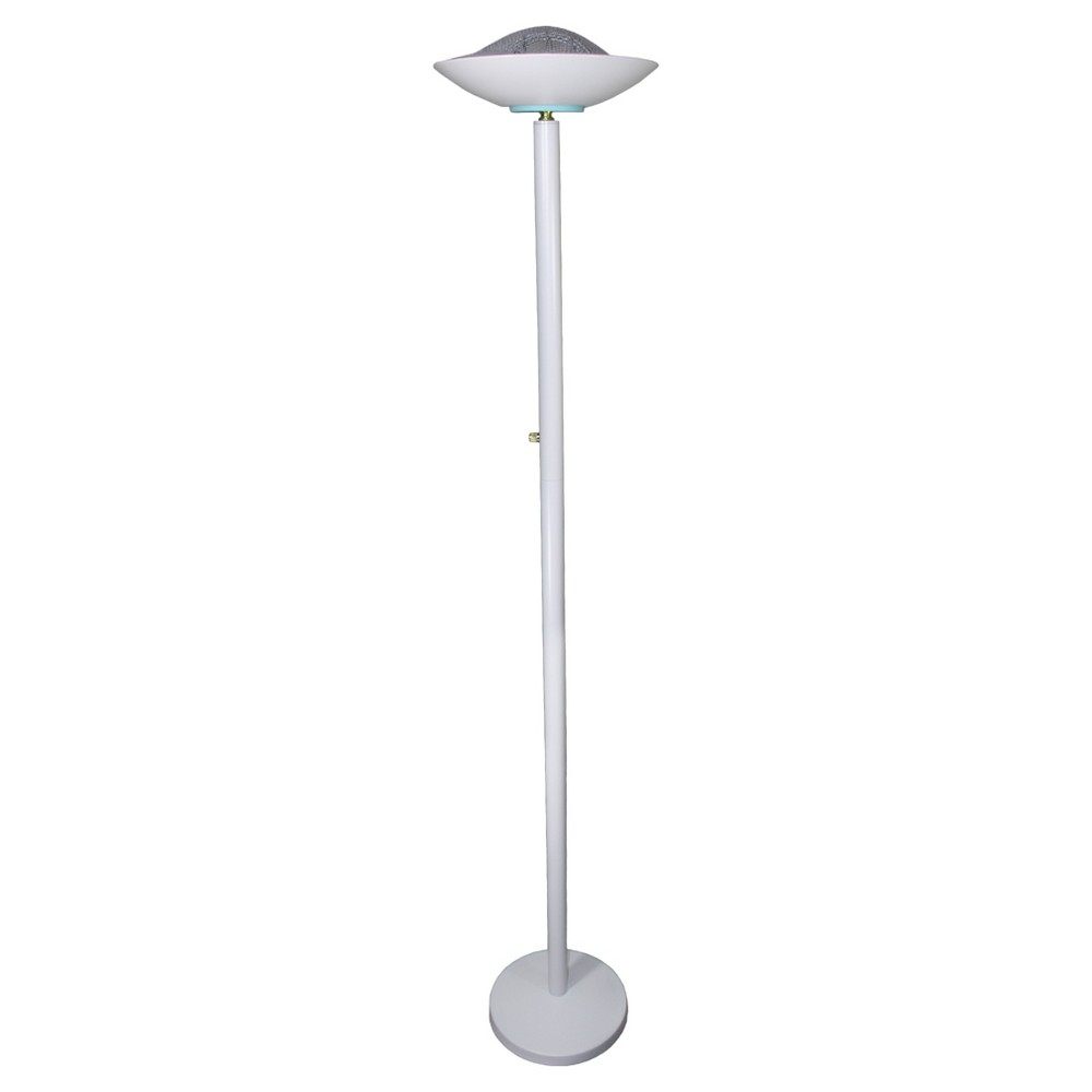 Torchiere Floor Lamp - White