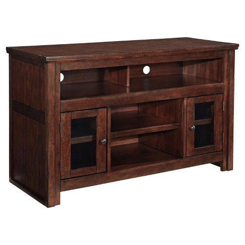 Harpan Reddish Brown - Medium TV Stand - Signature Design by Ashley - image 1 of 3