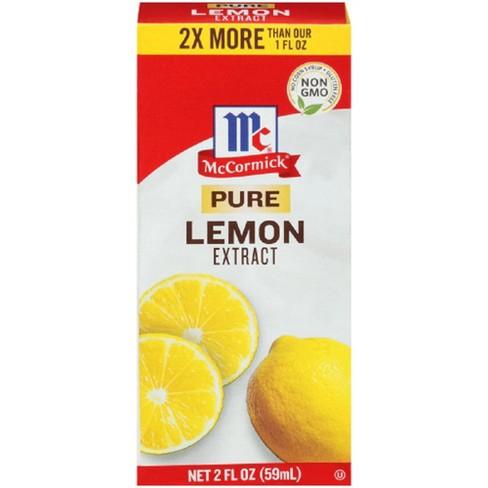 McCormick Pure Lemon Extract - 2oz : Target