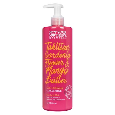 Not Your Mother's Naturals Tahitian Gardenia Flower & Mango Butter Curl Defining Conditioner - 16 fl oz