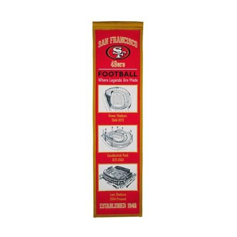 NFL San Francisco 49Ers Lil Fan Banner