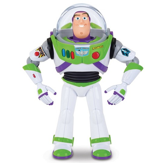Disney Pixar Toy Story 4 Buzz Lightyear with Interactive Drop-Down Action image number null