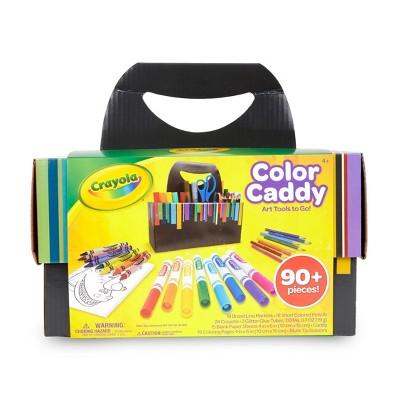 Crayola 90pc Color Caddy Art Tools