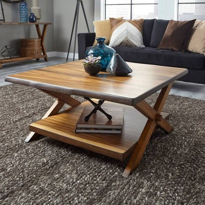 Forest Retreat Coffee Table Natural - Home Styles
