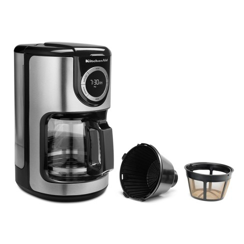 kitchenaid 12 cup coffee maker kcm1202ob target - Kitchen Aid Coffee Maker