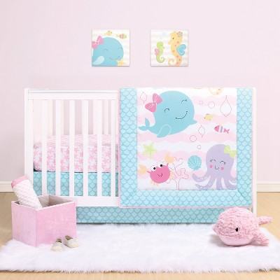 PS by The Peanutshell Sea Sweetie Crib Bedding Set - 3pc