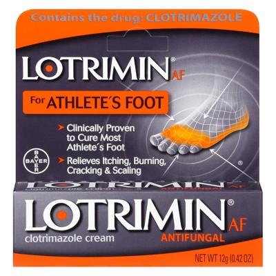 Lotrimin Clotrimazole Antifungal Cream – 12g