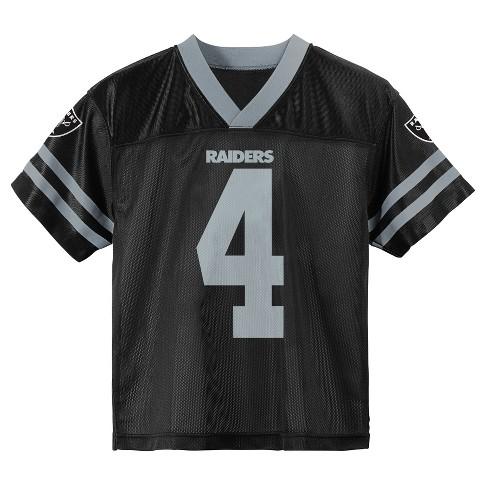 06e2020f3d4 NFL Oakland Raiders Boys  Player Jersey   Target