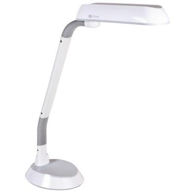 """37"""" 18W FlexArm Plus Refresh Desk Lamp White (Includes CFL Light Bulb) - OttLite"""