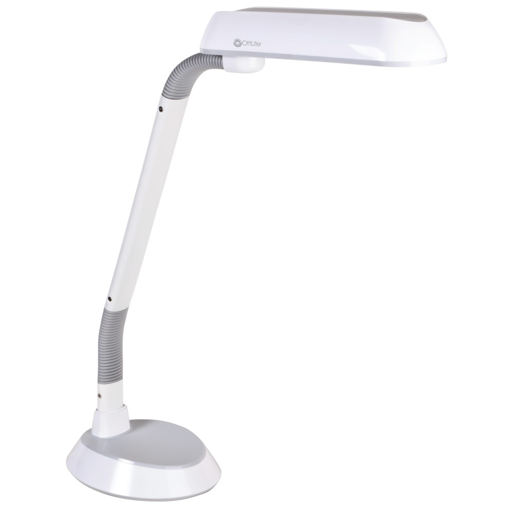 Image of 18W FlexArm Plus Refresh Table Lamp White (Includes Energy Efficient Light Bulb) - OttLite