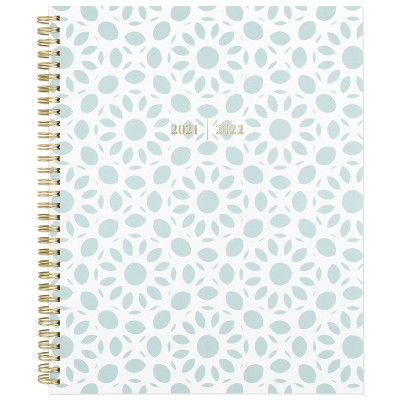 """2021-22 Academic Planner 11""""x8.5"""" Plastic Weekly/Monthly Athens Tile - Cambridge"""