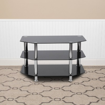 North TV Stand Black - Riverstone Furniture
