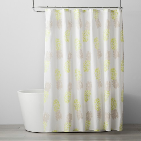 Fruit Shower Curtain Bleached Sand
