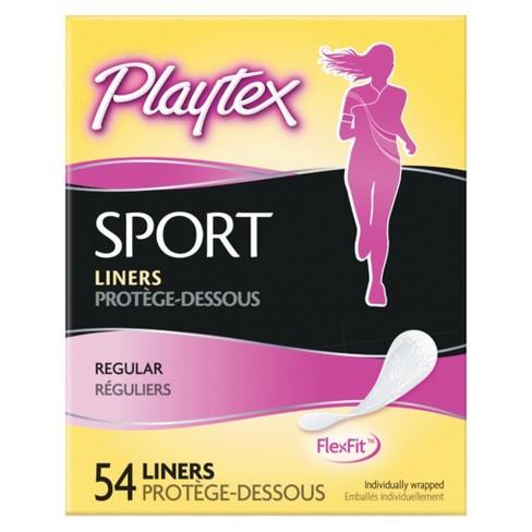 2eee02a723 Playtex Panty Liners 54 Ct   Target