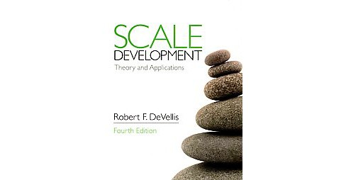 Scale Development ( Applied Social Research Methods) (Paperback) - image 1 of 1
