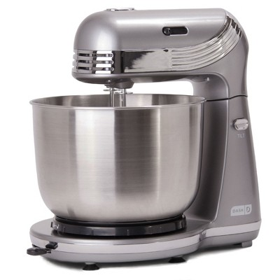 Dash Everyday 3qt Stand Mixer - Gray DCSM250GY