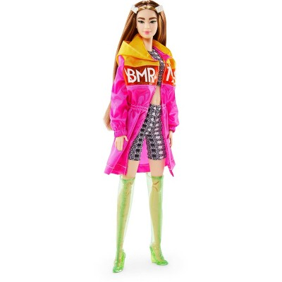 Barbie BMR1959 Doll with Color Block Windbreaker, Bike Shorts, and Boots