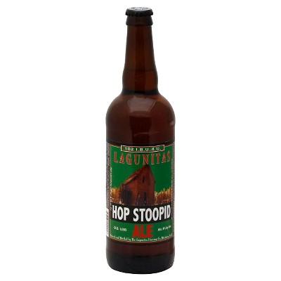Lagunitas Hop Stoopid Ale Double IPA Beer - 22 fl oz Bottle