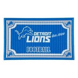 "NFL Embossed Welcome Mat 18""x30"""