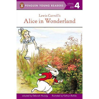 Lewis Carroll's Alice in Wonderland - (Penguin Young Readers, Level 4) (Paperback)