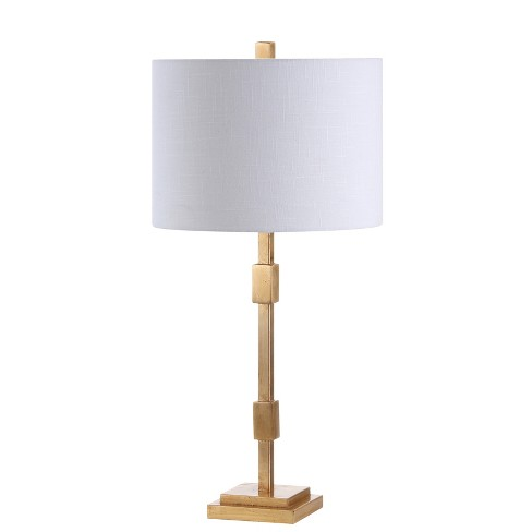 "29"" Windsor Metal LED Table Lamp Gold (Includes Energy Efficient Light Bulb) - JONATHAN Y - image 1 of 4"