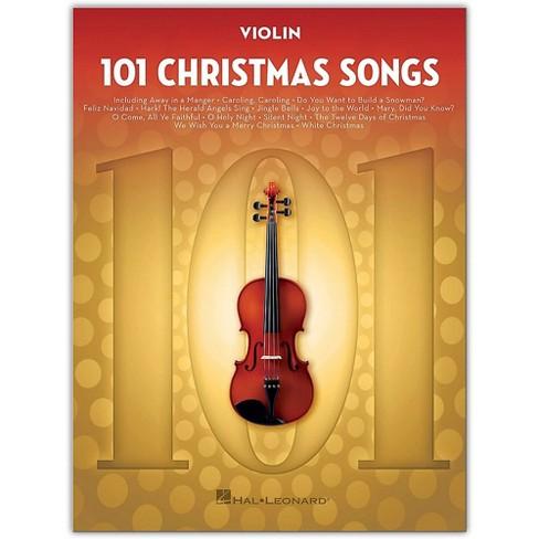 Hal Leonard 101 Christmas Songs for Violin - image 1 of 1