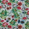2pk Flower Mania Petunia Reversible Chair Pads Pink - Pillow Perfect - image 2 of 2
