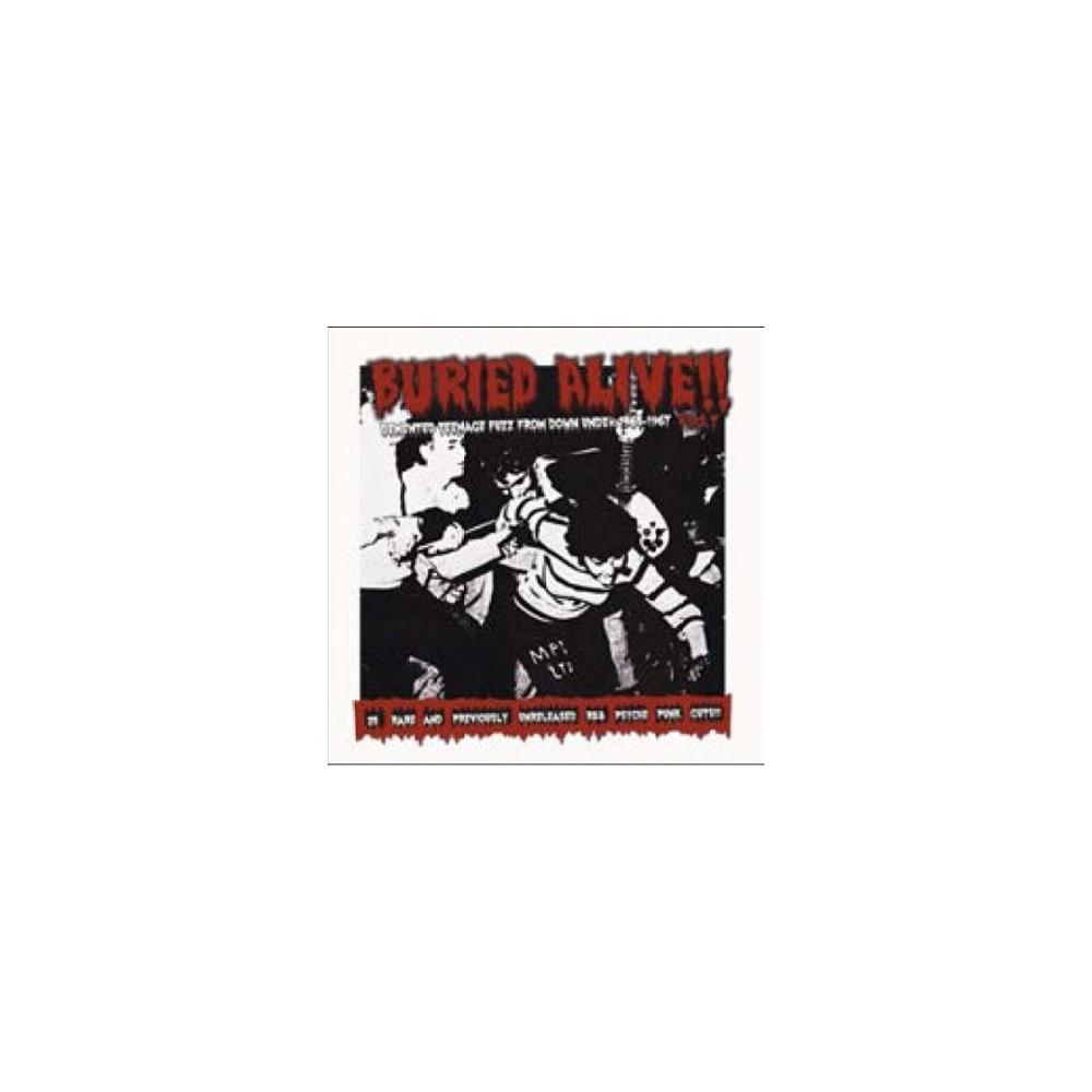 Various - Buried Alive Part 7:Demented Teenage (CD)