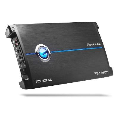 Planet Audio TR5000.1D Monoblock Car Audio Subwoofer Amplifier, 5000 Watts Max Power, 1 Ohm Stable, Class D