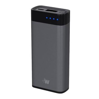 Just Wireless 4,000mAh Portable Power Bank - Slate