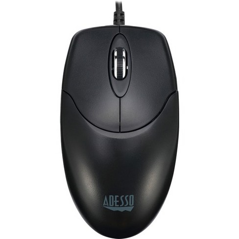 Adesso iMouse M6-TAA - Optical Scroll Mouse (TAA Compliant) - Optical - Cable - USB - 1000 dpi - Scroll Wheel - 3 Button(s) - Symmetrical - image 1 of 4