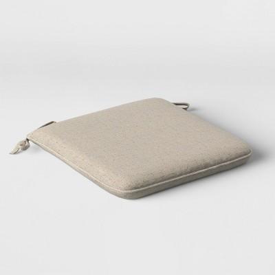 Woven Outdoor Seat Cushion DuraSeason Fabric™ Sand - Project 62™