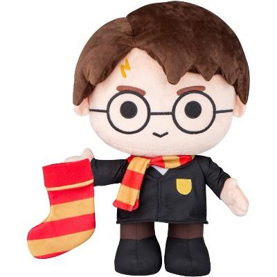 Gemmy Plush Room Décor Harry Potter w/Stocking OPP WB , black