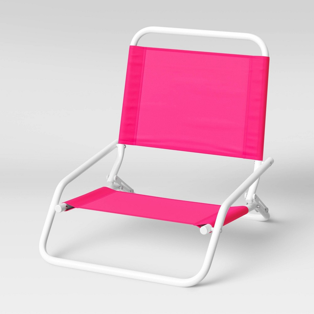 Coupons Beach Sand Chair - Pink - Sun Squad™